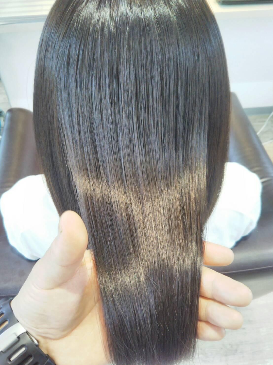 新薬剤ネオリシオ タンパク変性を抑える縮毛矯正